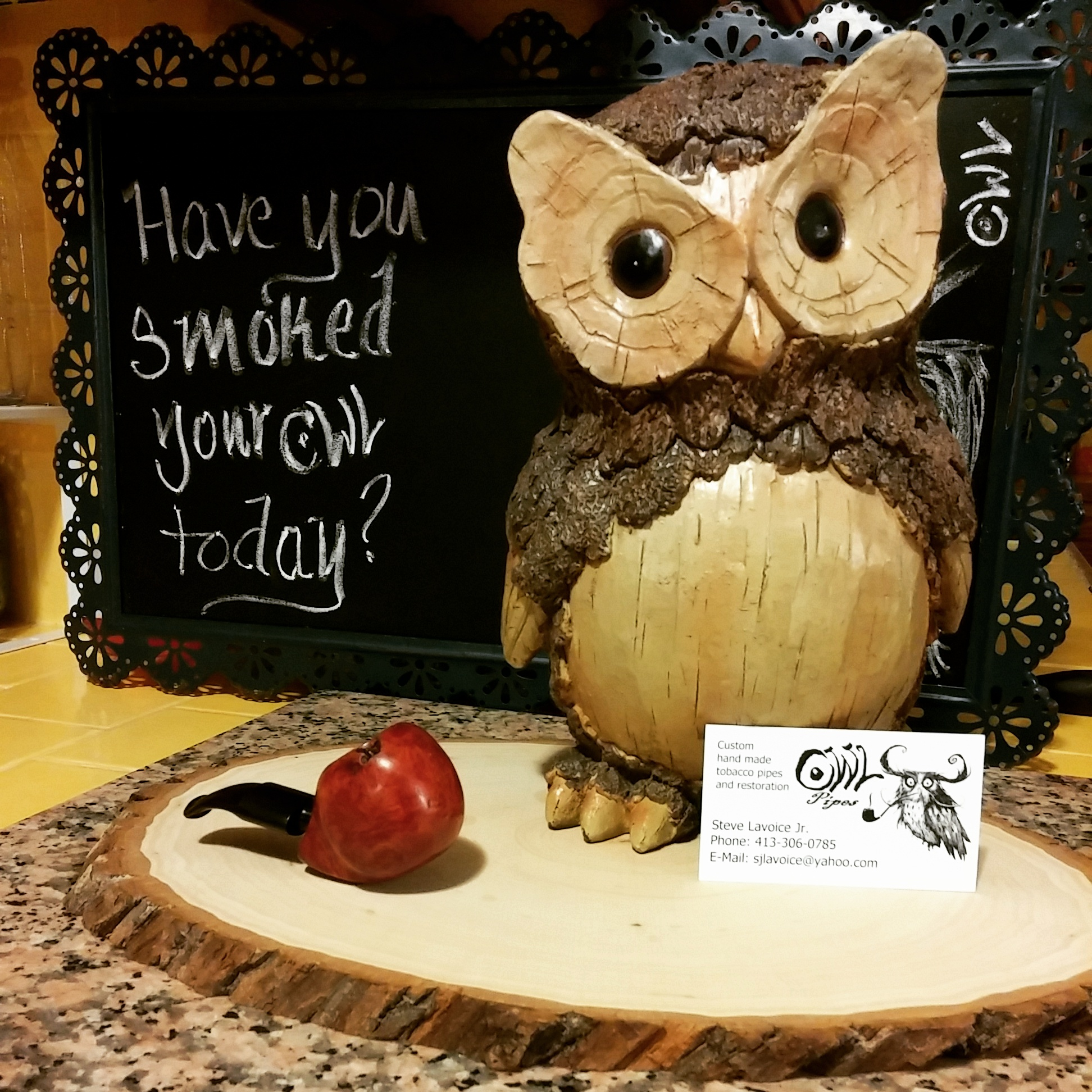 Have you smoked your Owl today?