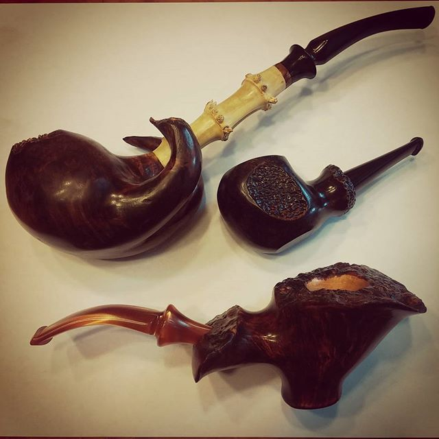 Instagram - Here at Owl Pipes we have fat pipes, skinny pipes, long pipes, short