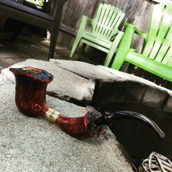 Instagram - #handmade #briar #bamboo #tobaccopipes #MassachusettsMade #smokingpi