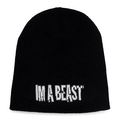 Im A Beast - Black Beanie