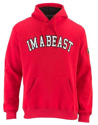 Im A Beast - Red Hoodie