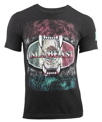 Im A Beast - Mexico Flag Shirt
