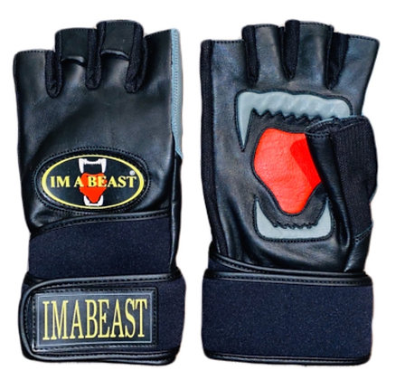 Im A Beast - Fitness / Weightlifting Gloves