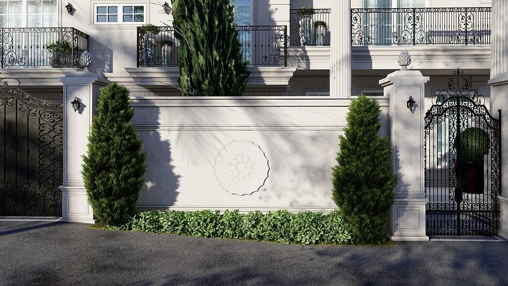 Projeto Arquitetura Neoclássica Estilo Itálico em Campinas
