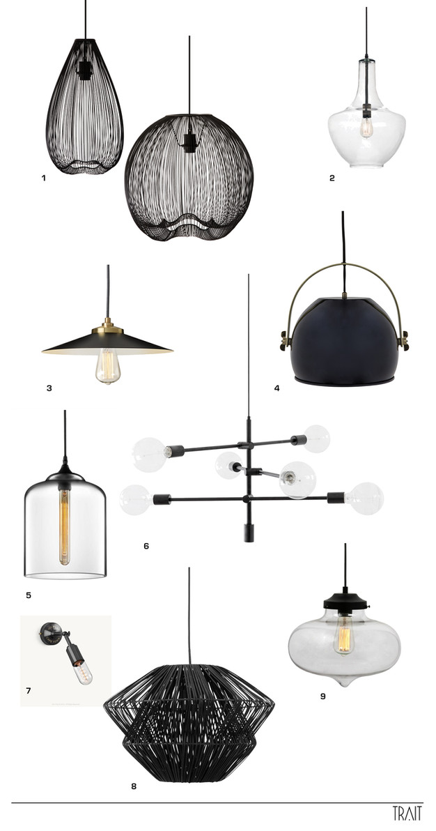Feature lighting top choices interior design cape town trait decor and because we are entering the season of giving we thought we would share these gems with you a sexy feature pendant in shades of black grey and carbon greentooth Image collections