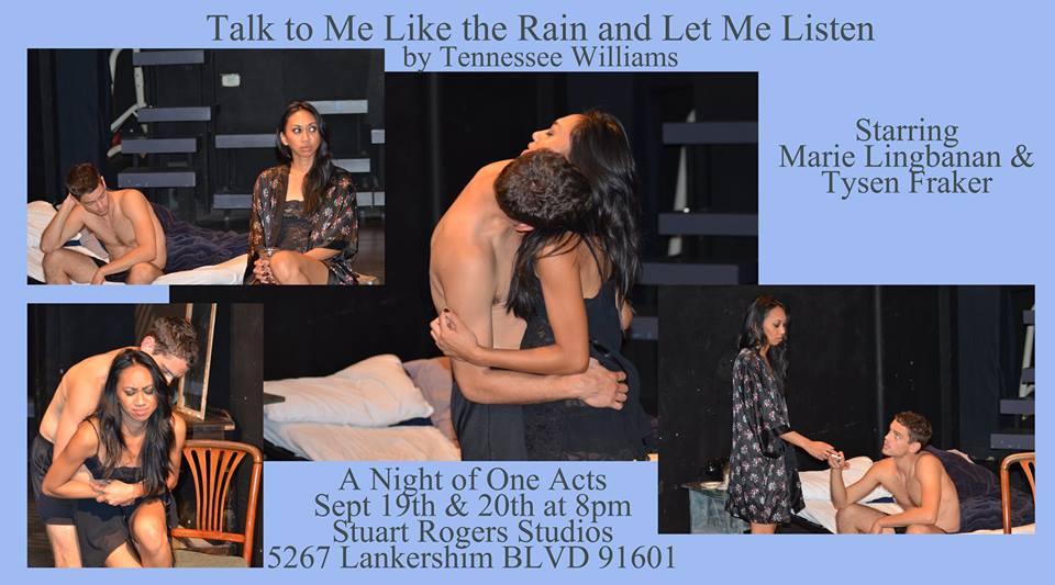 One Act Night Postcard