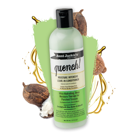 Aunt Jackie's Quench Moisture intensive leave in conditioner review