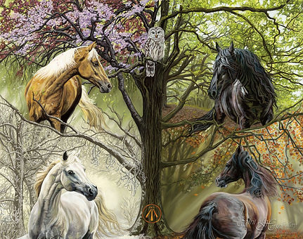 Horses of the Four