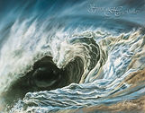 Eye of the Storm by Kim McElroy (buy this print & 50% of the proceeds benefit Saffyre Sanctuary!)
