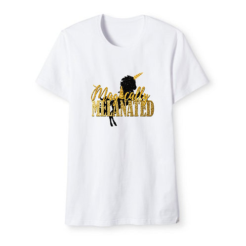 GLITTER Magically Melanated T-Shirt