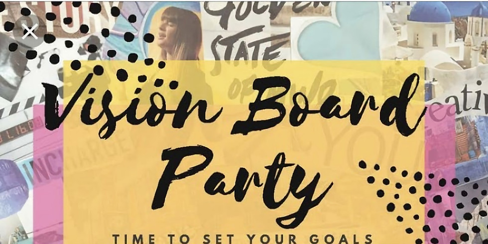 Mommy & Me Vision Board Party
