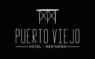 logotipo corto fondo negro hotel y resto
