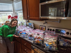 """""""Wood's Bags"""" for Holy Family Soup Kitchen"""