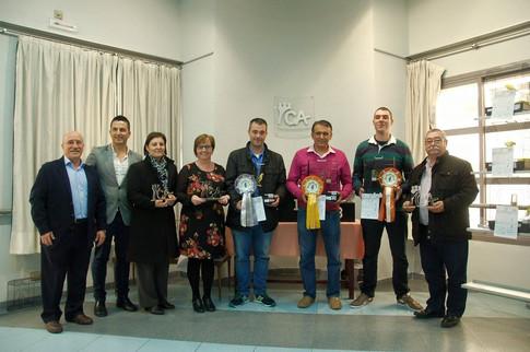 Organizadores, patrocinadores y ganadores