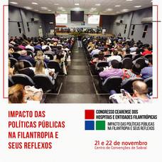 INSCRIÇÕES ABERTAS - Congresso Cearense dos Hospitais e Entidades Filantrópicas
