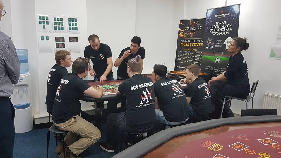 Ace Academy training
