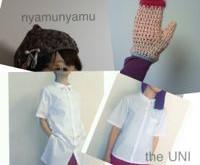 the UNI & nyamunyamu シャツのおひろめかい