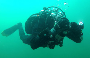 Technical diving shutdown