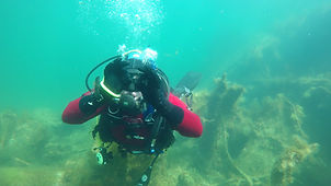 A happy diver on his UK Try a Dive experience