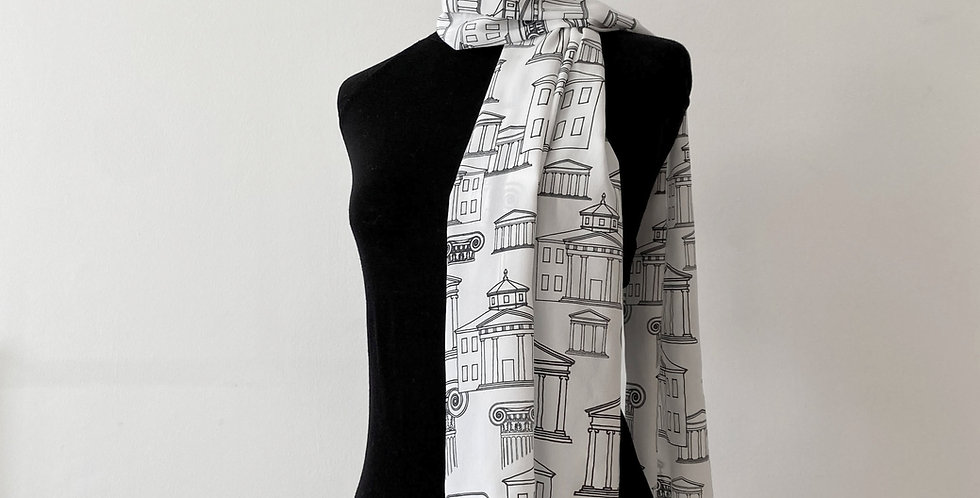 Downing Silk Scarf