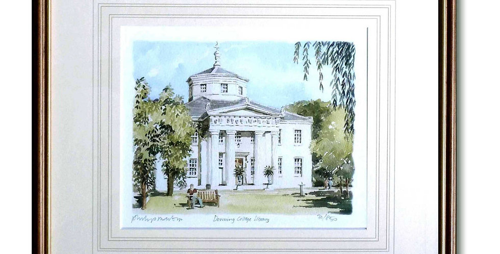 Downing Library (framed)