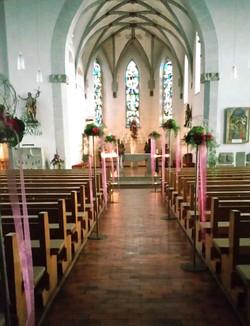 traumhafter Kirchenschmuck...