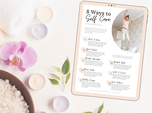 8 Ways To Self Care