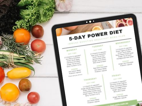5 Day Immune Boosting Diet