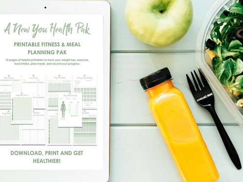 A New You Health Pak Printable Set