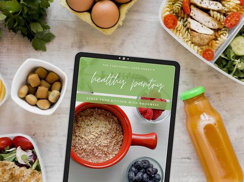 The Healthy Pantry eBook & Checklist