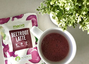 Combat Stress With A Superfood Beet Latte