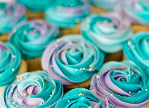 Guiltless Gluten-free Unicorn Cupcakes With Spirulina