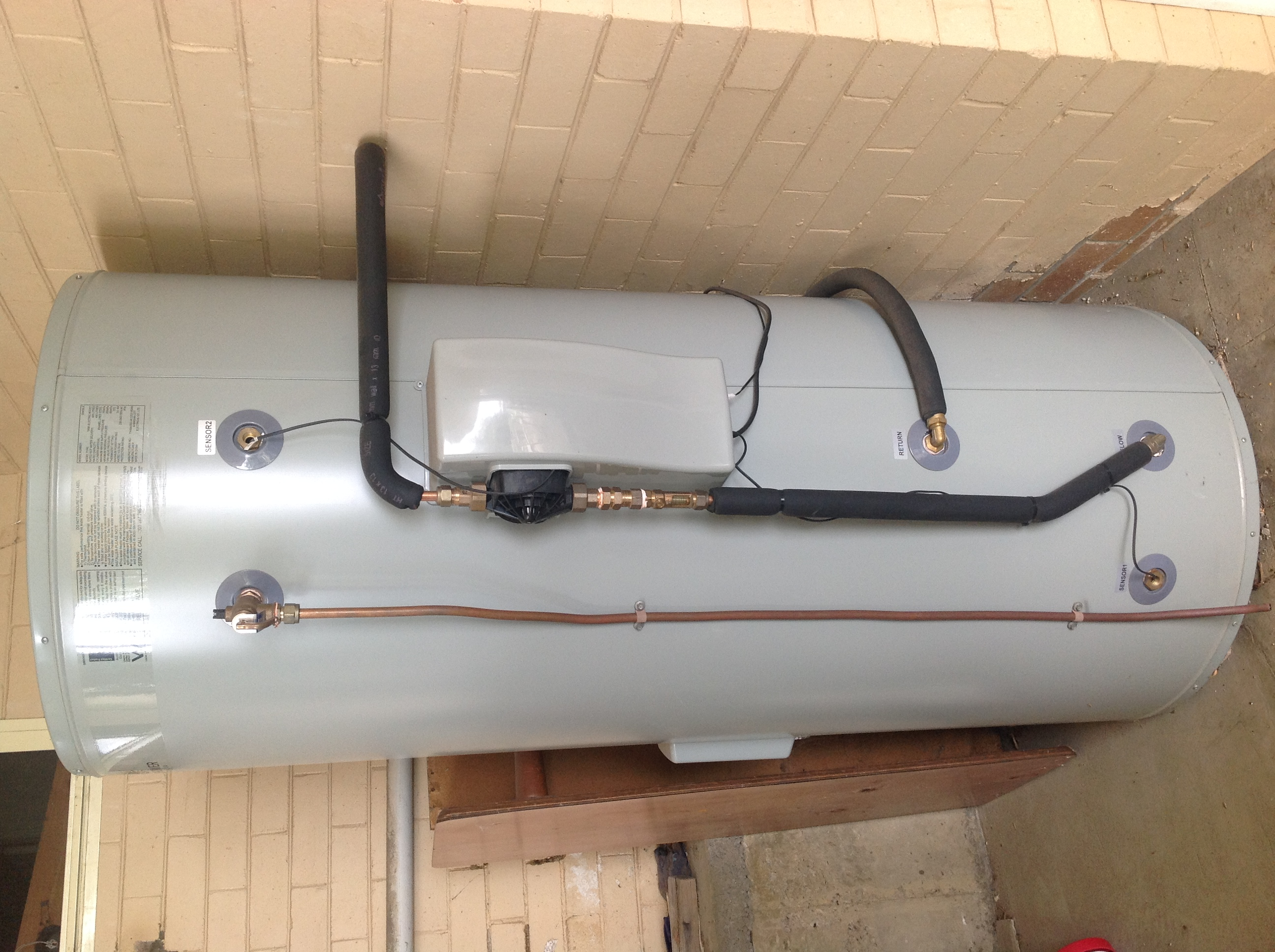 Sunshower 450ltr Tank 2013