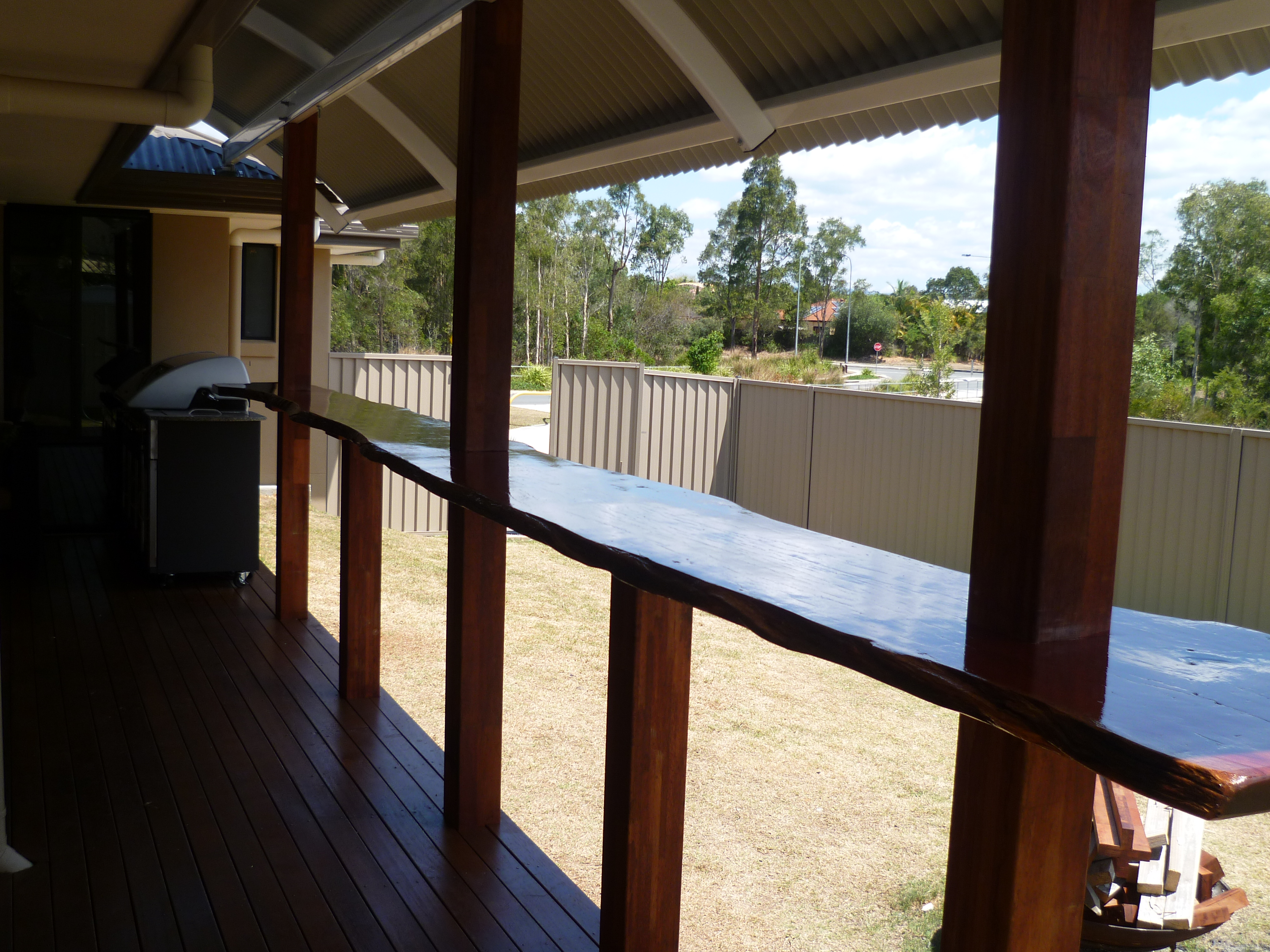 Deck and Bar Area