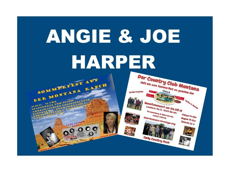 Angie und Joe Harper