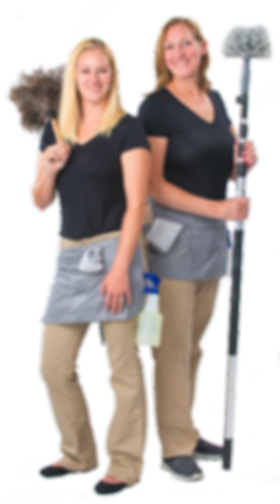 Jess and Lisa cleaning - residential pag