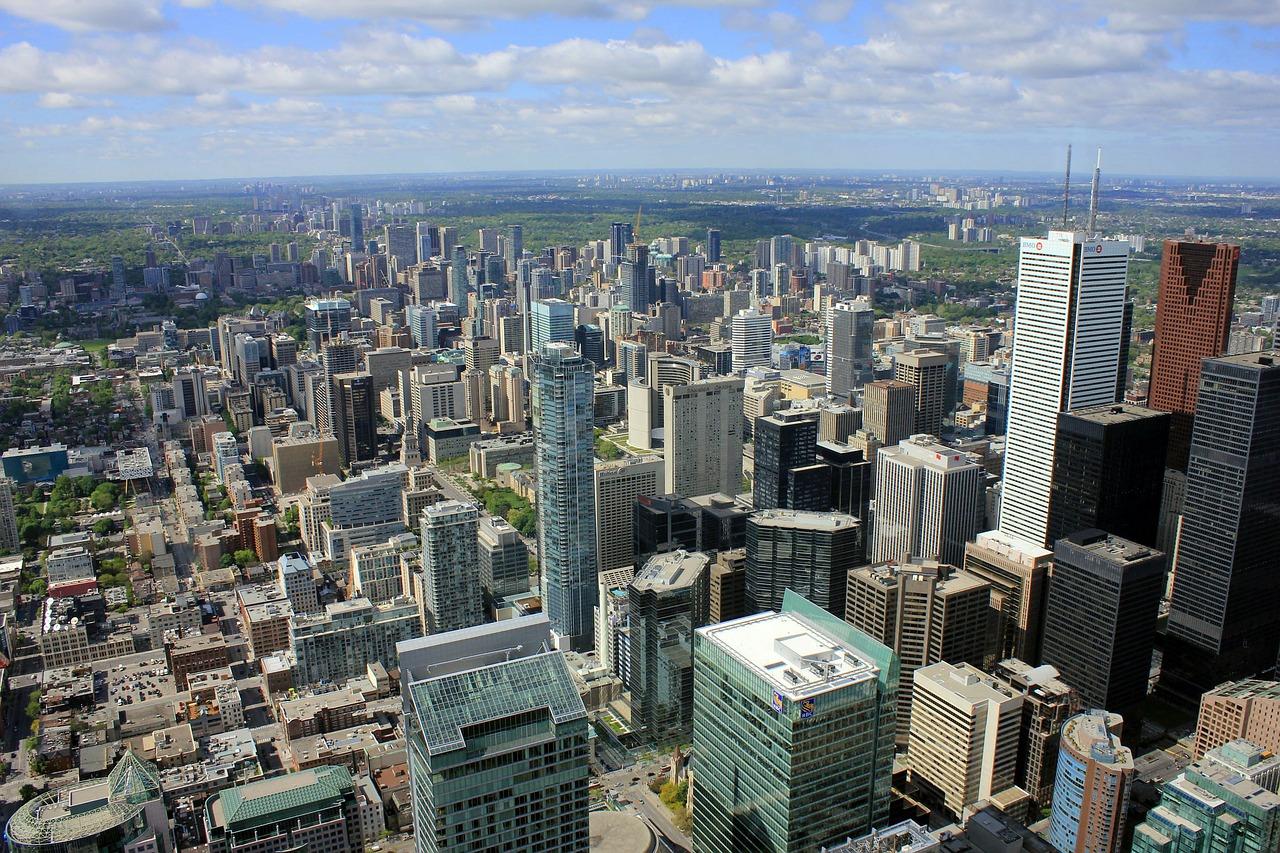 Toronto-Ciudad-Urbana-Horizonte-Paisaje-Urbano