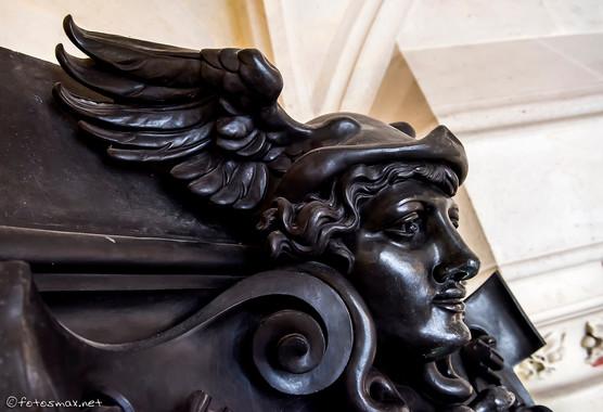Détail d'une sculpture de l'exposition Monduit