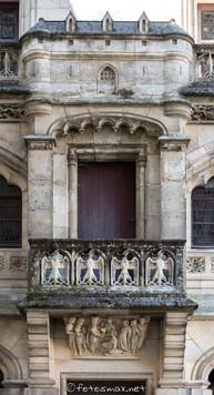 Balcon du corps des logis