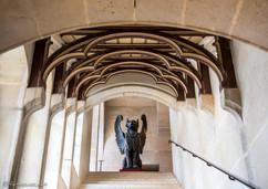 Grand escalier de l'aile des invités