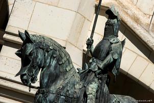 Statue de Louis d'Orléans et sa monture