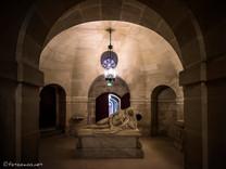 Petite crypte sud et gisant de Louis Charles d'Orléans