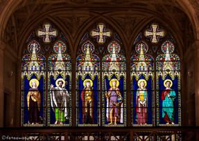 Vitraux du transept nord