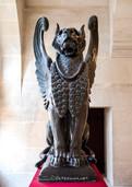Lion ailé, sculpture de Auguste Cain