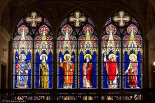 Vitraux du transept sud