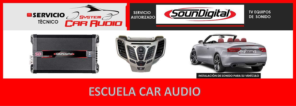 Escuela car audio en videos tutoriales