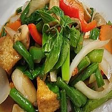 Vegan Spicy Basil