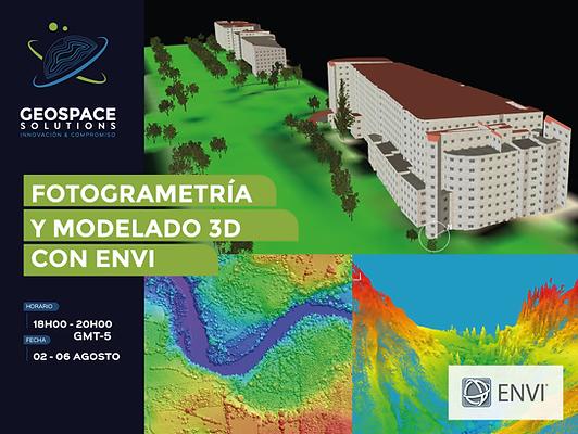 Fotogrametría y Modelado 3D con ENVI