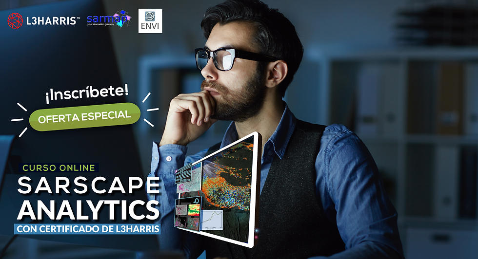 "Curso ""SARscape Analytics"""