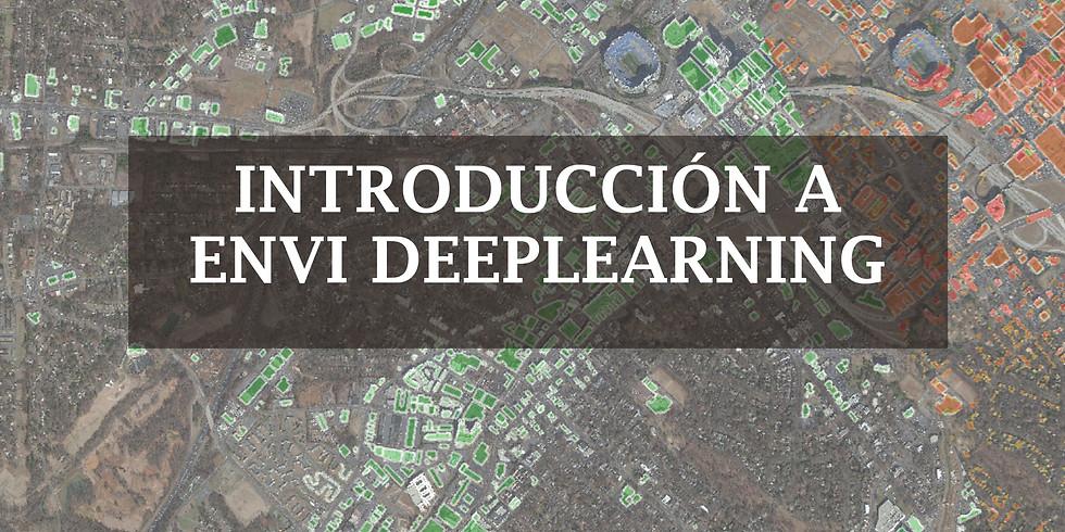 Introducción a ENVI DeepLearning